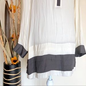 Banana Republic Tops - Banana Republic | tunic length semi-sheer blouse